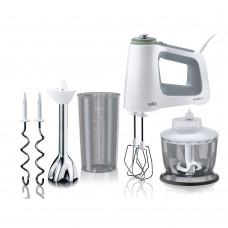 Braun Handmixer MultiMix 5 HM5137 SmartMix, weiß