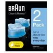 Braun CCR2 Reinigungskartusche CC-System (2er-Pack)