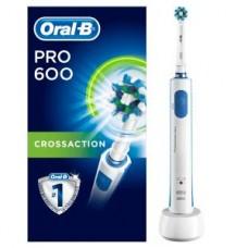 Oral-B PRO 600 CrossAction, blau/weiß