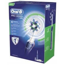 Oral-B PRO 4000, weiß/dunkelblau