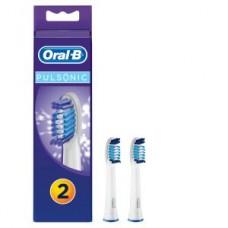 Oral-B Pulsonic 2er Pack Aufsteckbürsten, weiß