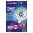 Braun Oral-B PRO 4900 Black + gratis Handstück und Reiseetui