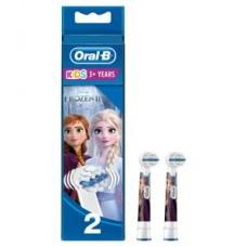 Oral-B 2er Stages Power Aufsteckbürsten, die Eiskönigin, völlig unverfroren