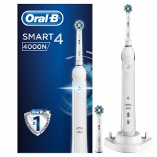 Oral-B SMART 4 - 4000N - Bluetooth, weiß