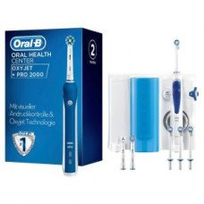 Oral-B Center OxyJet PRO 2000, blau/weiß
