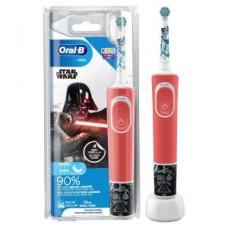 Oral-B Vitality 100 Kids Star Wars cls, rot