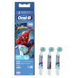 Oral-B Aufsteckbürsten Spiderman 3er / rot