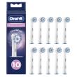 Oral-B Aufsteckbürsten Sensitive Clean 10er / Weiß