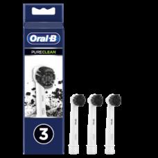 Oral-B Aufsteckbürsten Aktivkohle 3er / schwarz