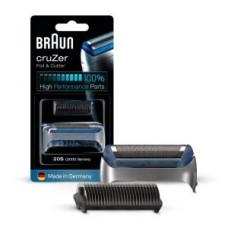 Braun Kombipack 20S/ CruZer / KP2000 silber