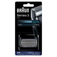 Braun Kombipack 31S/ Series 3 u. 5000/ KP5000 silber