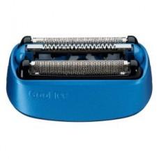 Braun Kombipack 40B/ Scherteile.,CoolTec Geräte/40B, blau/schwarz