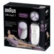 Braun Silk-épil 7-929 SkinSpa Epilierer + Gesichtsreinigungsbürst