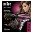 Braun Haartrockner Satin Hair 7 - HD770 Diffusor+ Color Saver,rot