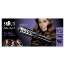 Braun Lockenbürste Satin Hair 3 AS330, schwarz
