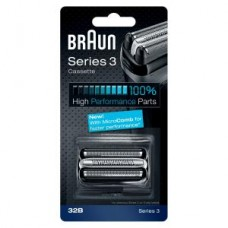 Braun Kombipack 32B neu/ Scherteilekassette Series 3/ KP32B sw.