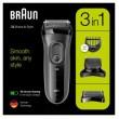 Braun Rasierer Series 3 Shave&Style 3000BT, schwarz