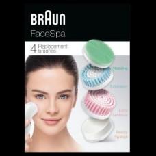 Braun FACE Ersatzbürsten SE80-mv 4er-Set Aufsatz-Mix