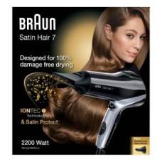 Braun Haartrockner Satin Hair 7 - HD710 solo, schwarz