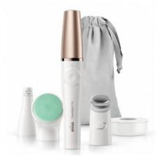 Braun FaceSpa Pro 913 Gesichtsreinigungsbürste und -epilierer, weiß/bronze