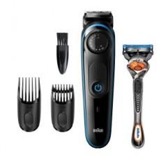 Braun BeardTrimmer BT3940 schwarz Geschenkset mit Kulturtasche