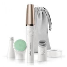Braun FaceSpa Pro 913 Gesichtsreinigungsbürste und -epilierer, wei