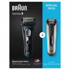 Braun Rasierer Series 9 Premium Shaver-Vorteilspack + BT5090 BeardTrimmer silber/schwarz