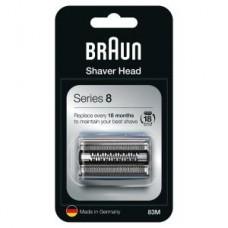 Braun Kombipck 83M/  Schersystem Series8 - matt/silber 8390cc/8365