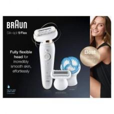 Braun Braun Silk-épil 9 Flex SES9010 3D SkinSpa weiß/gold