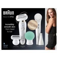 Braun Silk-épil 9 Flex SES 9300 3D weiß/gold