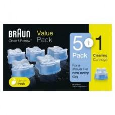 Braun CCR5+1 Reinigungskartuschen Promo Pack CC-System