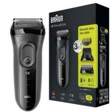Braun Rasierer Series 3 - 3000BT, schwarz