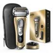 Braun $Rasierer Series 9 - Premium Edition Gold mit Ledertasche