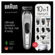 Braun MultiGrooming-Kit MGK7220 schwarz/metallic silber