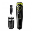 Braun BeardTrimmer BT3221, schwarz/grün