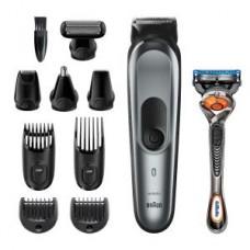 Braun MultiGrooming-Kit MGK7221 schwarz/metallic grau