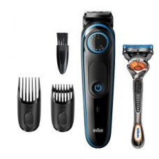 Braun BeardTrimmer BT5240,schwarz/blau