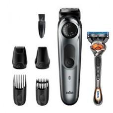 Braun  BeardTrimmer BT7220 schwarz/metallic grau