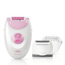 Braun Silk-épil 3 Epilierer - 3270, Legs&Body, pink/weiß