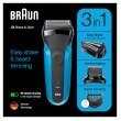 Braun Series 3 - 310BT schwarz/blau wet&dry