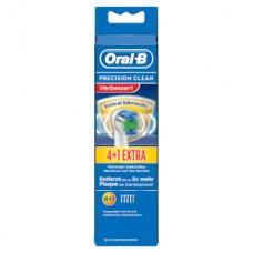 Oral-B Precision Clean 4+1er Pack Bakterienschutz Aufsteckbürsten, weiß