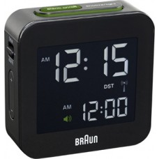 Braun Digitaler Funkwecker, Multiband BNC008 BKBK, schwarz