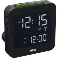 Braun Digitaler Funkwecker, Multiband BNC009 BKBK, schwarz