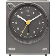 Braun Quarzwecker BNC004, grau