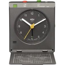 Braun Reise-Klappwecker BNC005, grau