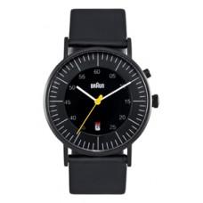 Braun Herren-Armbanduhr BN0013 BKBKG, schwarz