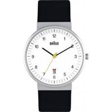 Braun Herren-Armbanduhr BN0032 WHBKG, weiß/schwarz