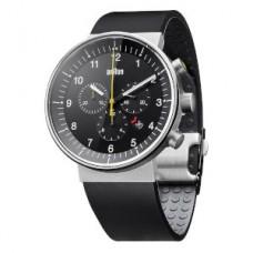 Braun Prestige-Chrono Armbanduhr BN0095 BKSLBKG, schwarz/silber