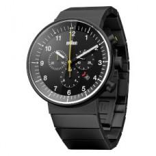 Braun Prestige-Chrono Armbanduhr BN0095 BKBKBKG, schwarz