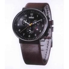 Braun Klassische Herren-Armbanduhr BN0035 BKBRG, schwarz/braun